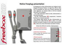1 CPL Freeplug 200Mbps  Pour Freebox Révolution