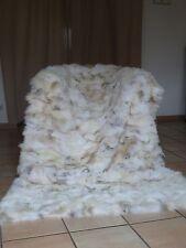 Ein TRAUM ! Pelzdecke COYOTE Cojote Felldecke NATUR ca. 120x230 cm TOP!
