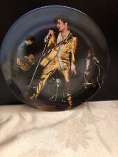 Elvis Presley Collectors Plate Memphis Flash Looking At A Legend 1989 In Box