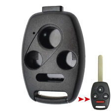 Black Key Shell Replacement For Honda Accord Civic CR-V Remote Case No Blade