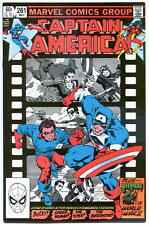 Captain America #281, 283 284 285, 289, Vf/Nm, Bucky, Mike Zeck, 1968, 5 iss