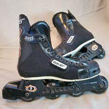 BAUER Off Ice Hockey H1 Inline Roller Blades Mens Size 9 NHL