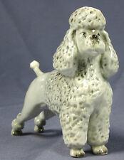 Pudel poodle figurine figure Porzellanfigur Sitzendorf Hund hundefigur