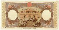 10000 LIRE CAPRANESI REPUBBLICHE MARINARE REGINE DEL MARE 27/10/1953 BB/BB+