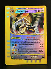 Kabutops Reverse Holo Skyridge Played German Pokemon Card