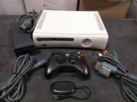 Microsoft Xbox 360 4GB Core Matte White Video Game Console Gaming System WOW