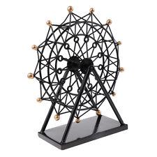 Handmade Metal Ferris Wheel Model Romantic Handicrafts for Home Table Decor