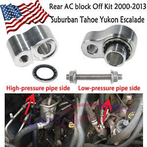 Rear A/C ac block Off Kit For Chevy Tahoe Escalade Yukon GMC Suburban 2000-2013