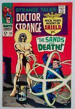 1967 Marvel Comics Book Strange Tales #158 Dr Strange Nick Fury Living Tribunal