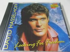43361 - DAVID HASSELHOFF - LOOKING FOR FREEDOM - 1991 ARIOLA EXPRESS CD ALBUM