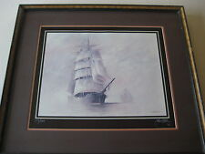 """JOHN KELLY LIMITED EDITION REPRODUCTION """"HOMEWARD BOUND"""" LITHOGRAPH, SIGNED"""