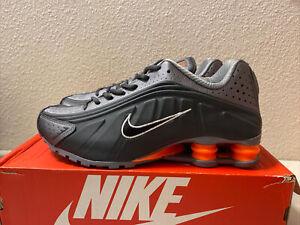 Nike Shox R4 OG Retro Anthracite Total Orange 104265-054 size 9