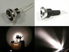 S092 - 4 Stück LED Flutlichtstrahler Bau- Fassadenstrahler Scheinwerfer warmweiß