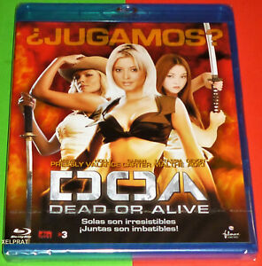 DOA DEAD OR ALIVE Bluray *AREA B* English Español - Precintada