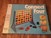 Vintage Connect Four Board Game Complete 1974 Milton Bradley