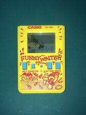 Very rare & Vintage Casio Funny Waiter CG-118A game watch Japan