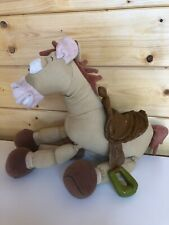 """DISNEY STORE TOY STORY LARGE 15"""" TALL BULLSEYE SOFT PLUSH TOY STAMPED"""