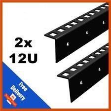 2x 12U STRISCIA Rack 19 in (ca. 48.26 cm) - casi di volo | venduti in coppia