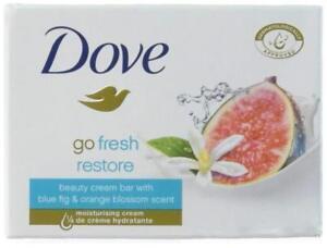 Dove Go Fresh Restore Beauty Cream Bar with 1/4 Moisturising Cream 100 g x 1 2 4