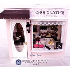 DIY Handcraft Miniature Dolls House My Little Chocolatier in Brussels Belgium