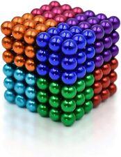 Multi Colored 216 Pcs 5mm Magnetic Fidget Balls 6 Colors