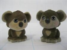 MEG POCKETVILLE Puppy In My Pocket Flocked ANIMAL FAMILY TWIN BABY KOALA BEARS
