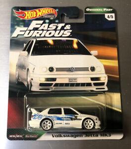 Hot Wheels Fast & Furious Original Fast Volkswagen Jetta MK3