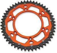 Moose Dual Ring Rear Sprocket 50T Orange KTM/Husqvarna/Husaberg