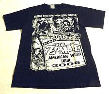 Rob Zombie Tour 2006 Vintage S T-Shirt Slipknot, Alice Cooper, Marylin Manson,