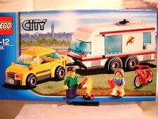 LEGO CITY   -   LA PETITE VOITURE ET LA GROSSE CARAVANE   (BOÎTE SCELLEE)