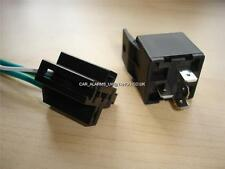 BRAND NEW 4 PIN Normally Closed AUTOMOTIVE RELAY + WIRING LOOM 12V 40A N/C NC