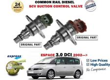 FOR RENAULT ESPACE 3.0 DCi 2002-> NEW DIESEL PRESSURE SCV SUCTION CONTROL VALVE