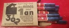 Ancienne boite de mines pour porte mine STYLOMINE automatique N°A22 moyen