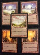 Magic The Gathering : Foreign Lands.... ITALIAN ... MIRAGE (5x Swamp)