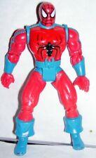"1995 Toy Biz Marvel comics 5"" posable Spiderman Action Figure lizard man variant"
