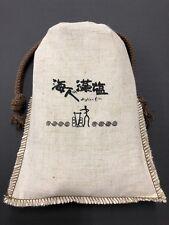 Amabito No Moshio Seaweed Salt Cloth Bag 300g MADE IN JAPAN