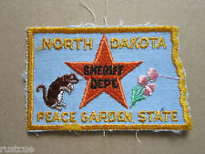 North Dakota Sheriff Department Woven Cloth Patch Badge