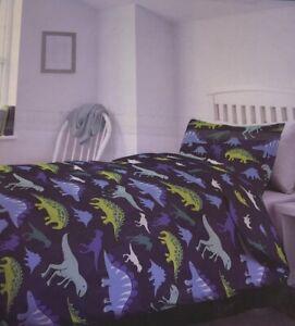 Luxury Dinosaur Themed Single Bed Duvet Cover Set