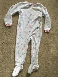 CARTER'S Toddler Girls Footed Pajamas PJs ~ Size 4 4T ~ One Piece Fairies