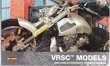 2009 Harley VRSC VROD V ROD VRSC VRSCDX Owner's Owners Owner Manual NEW 99736-09