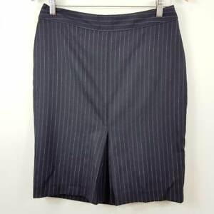 [ BODEN ] Womens Striped Pencil Skirt   Size AU 10 or US 6