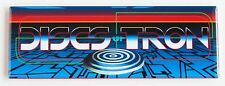 Discs of Tron Marquee FRIDGE MAGNET (1.5 x 4.5 inches) arcade video game header