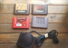 Maximum Carnage, Menacer Game & Sensor, Quackshot & Game Cleaner (Sega Genesis)