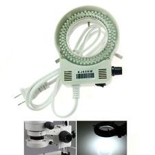 144 Bright White LED Bulbs Ring Light Illuminator for Stereo Microscope & Camera