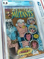 NEW MUTANTS #87 CGC 9.8 rarer 2nd print 1st CABLE LIEFIELD Todd McFarlane COVER!