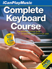 Complete Keyboard Course for Piano Beginner Lessons Audio Video Book Cd Dvd Pack