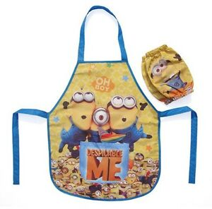 Waterproof Apron Smock for Kid Painting Cooking Drawing Kitchen with Sleeve