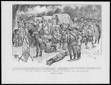 1899 * - BOER WAR Frere Camp Blaauwkran Spruit Natives Banjo  (152)