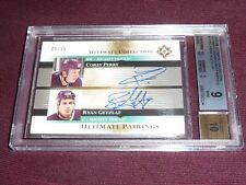05-06 Ultimate Collection Ryan Getzlaf Corey Perry RC DUAL Auto 25/25 BGS9 1/1