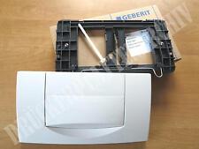 GEBERIT Modell 200F weiß Betätigungsplatte 115.222.11.1 Drückerplatte 115222111